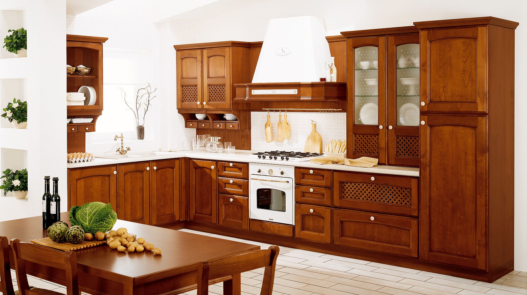 VILLA D\'ESTE | Country kitchen designs, Kitchen design ...