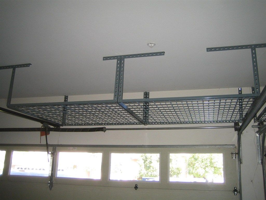 Professional Over Garage Door Storage