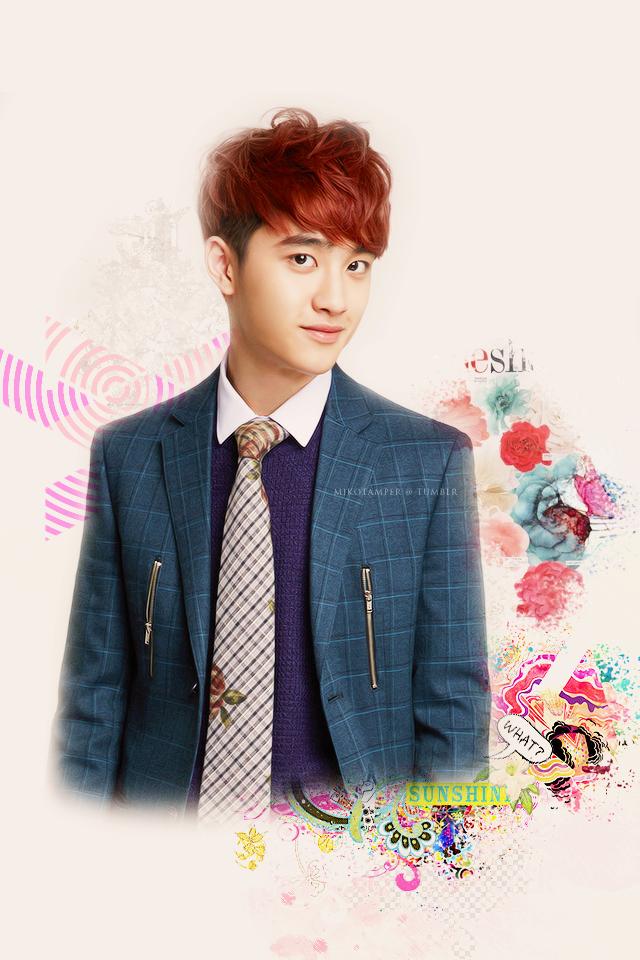 Dont miss Flower Boy D.O iPhone Wallpaper HD Wallpaper