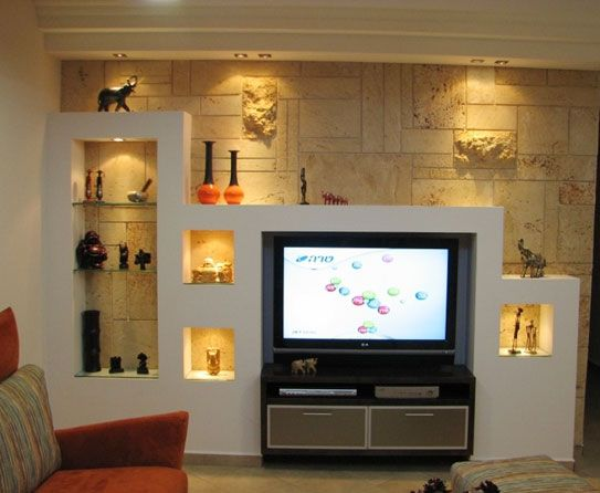 How To Creatively Use Wall Niches Living Room Console