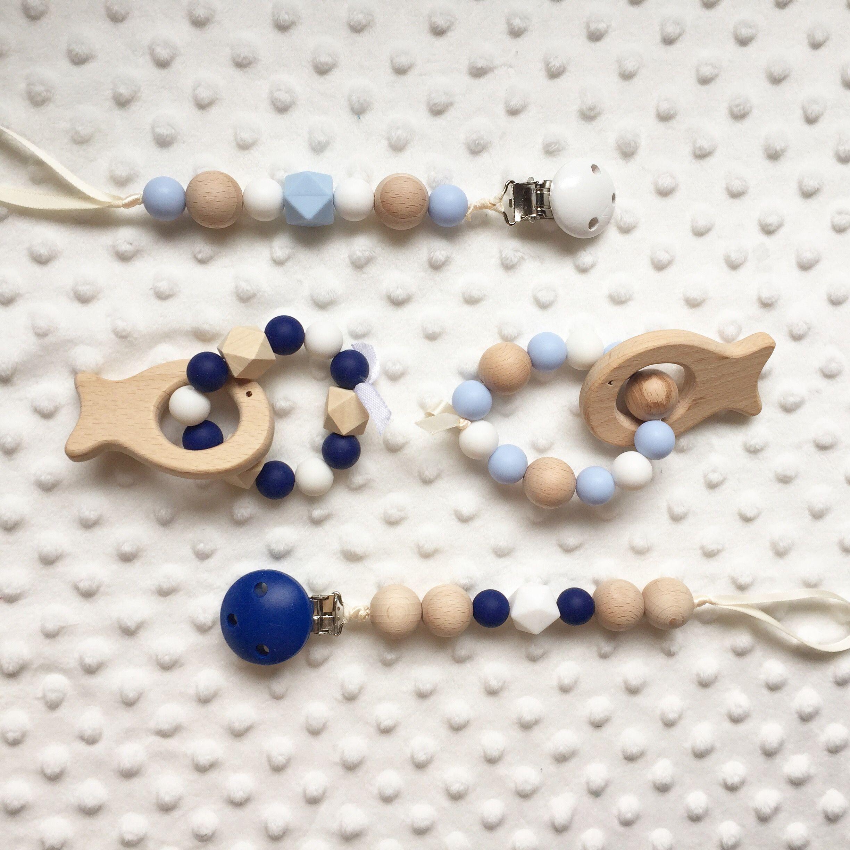 Silicone dentition Perles Dummy Clip Bébé Cadeau dentition pastel UK