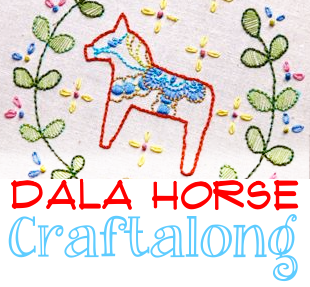 appliqué with the Dala horse