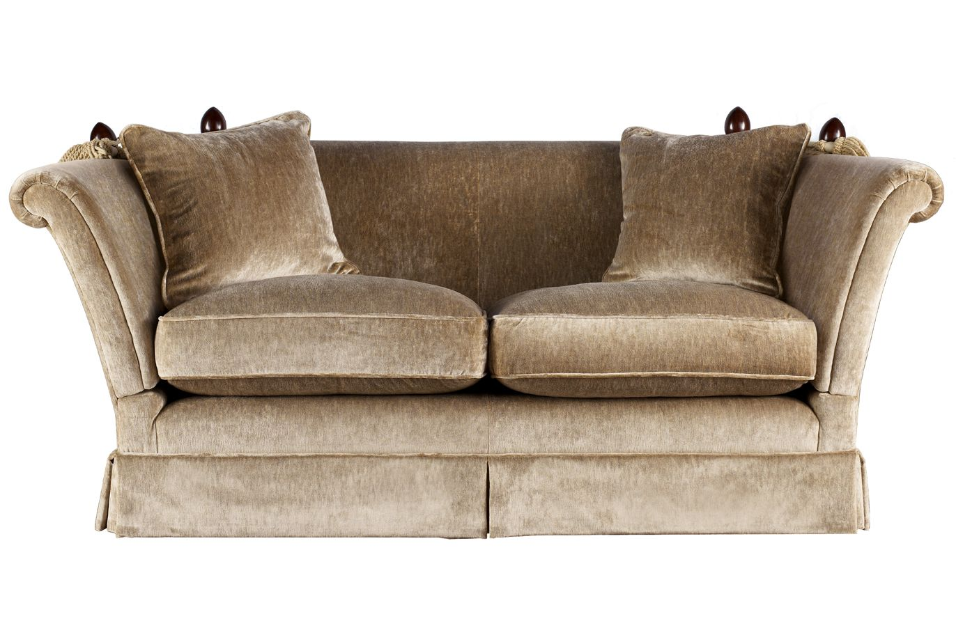 two couches langham upholstered 2 seater sofa laura ashley made to order house interior. Black Bedroom Furniture Sets. Home Design Ideas