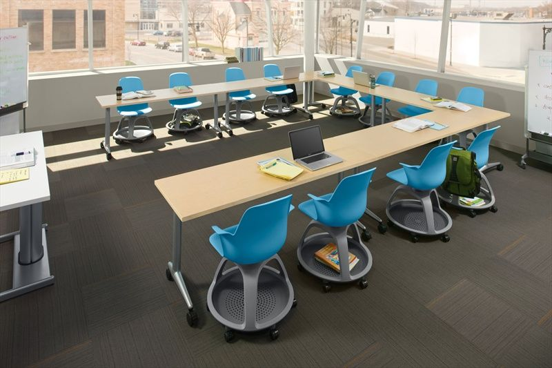 steelcase node chairs. Node With Akira Tables, Large Group Discussion.steelcase Steelcase Chairs
