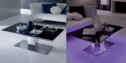 Mesas con luces LED de Ozzio Mesas Pinterest Luz led, LED y