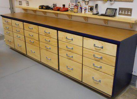 Shop Storage Cabinets | Workshop Storage, Layout and Ideas ...