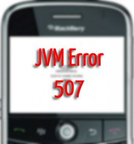 Blackberry LED and JVM Error Code