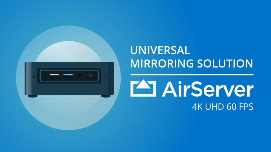 Airserver Is The Most Advanced Screen Mirroring Software Receiver For Mac Pc Xbox One And Surface Hub Air Coding Linux Operating System Network Performance