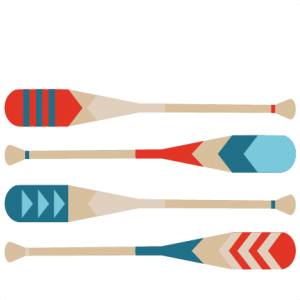 Canoe Paddles SVG Scrapbook Cut File Cute Clipart Files For Silhouette Cricut Pazzles Free Svgs Svg Cuts