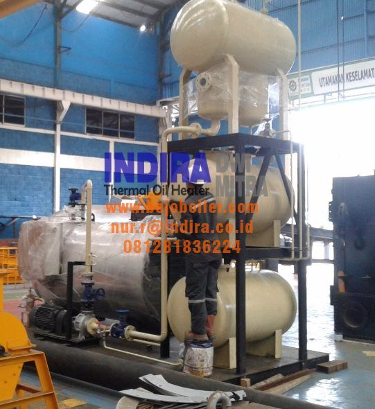 Thermal Oil Heater 200 Mcal H 6000 Mcal H Indonesia Kapal