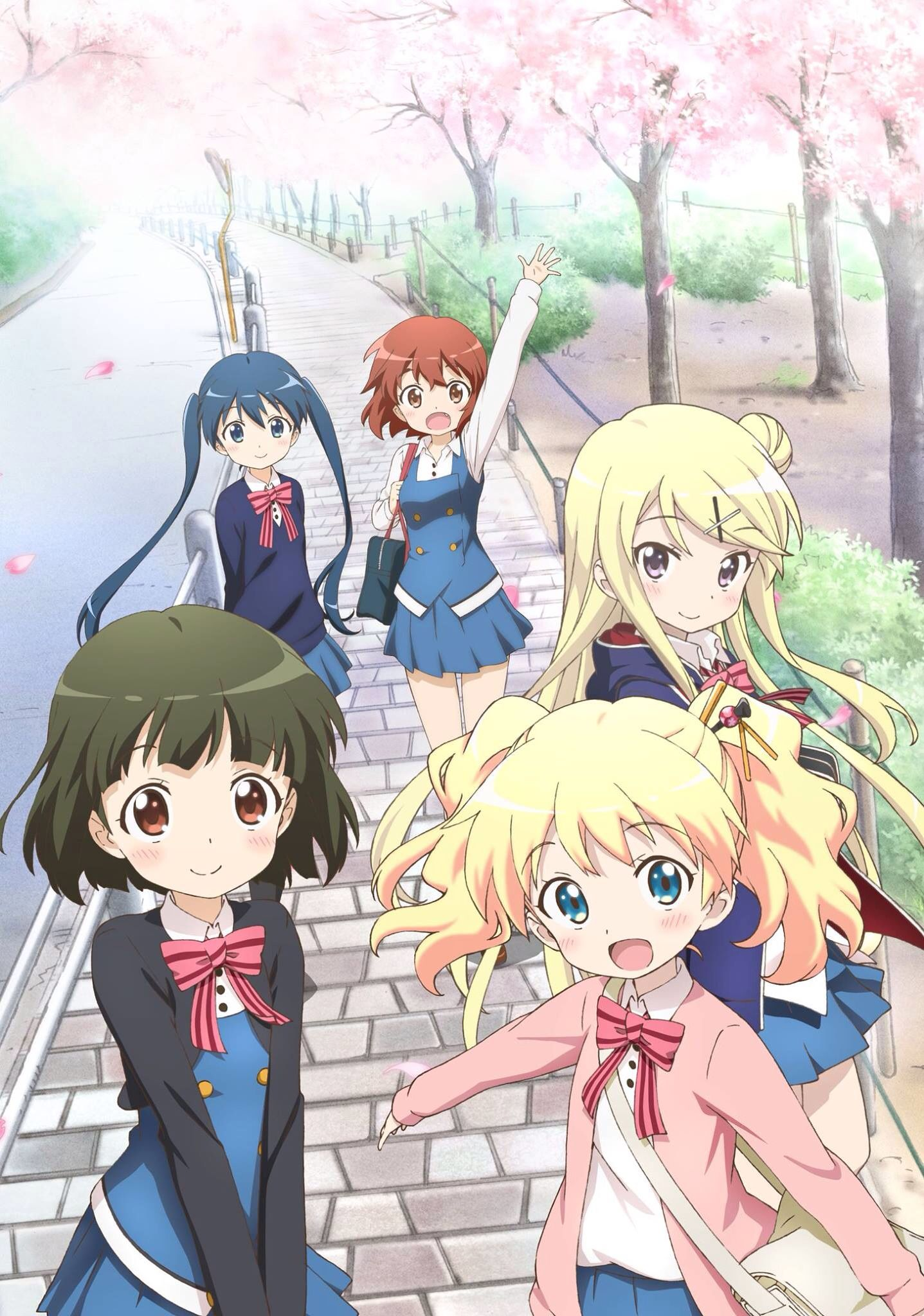 School Girls Anime Anime Reviews Mosaic