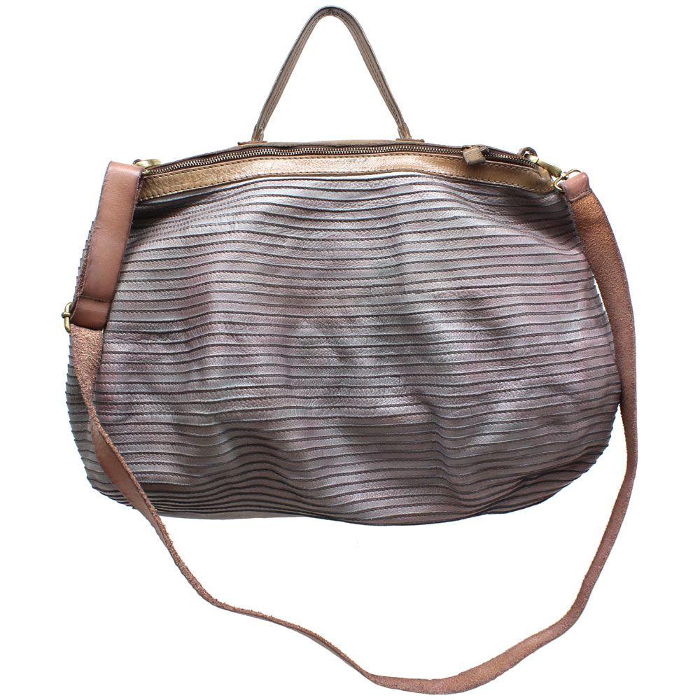 da004b3e569b LOVE. Majo Rosa (Grey) Leather Large Satchel