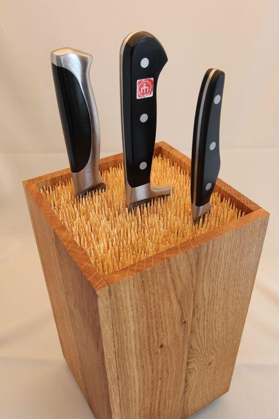 Universal knife block design martin robitsch knives - Portacoltelli ikea ...