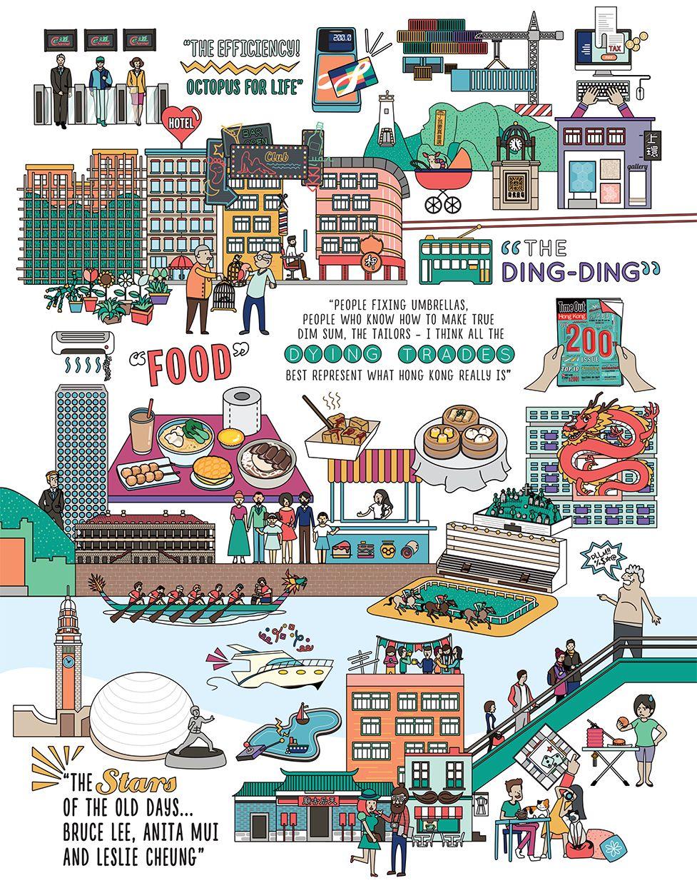Illustration 200 Reasons To Love Hong Kong Hong Kong