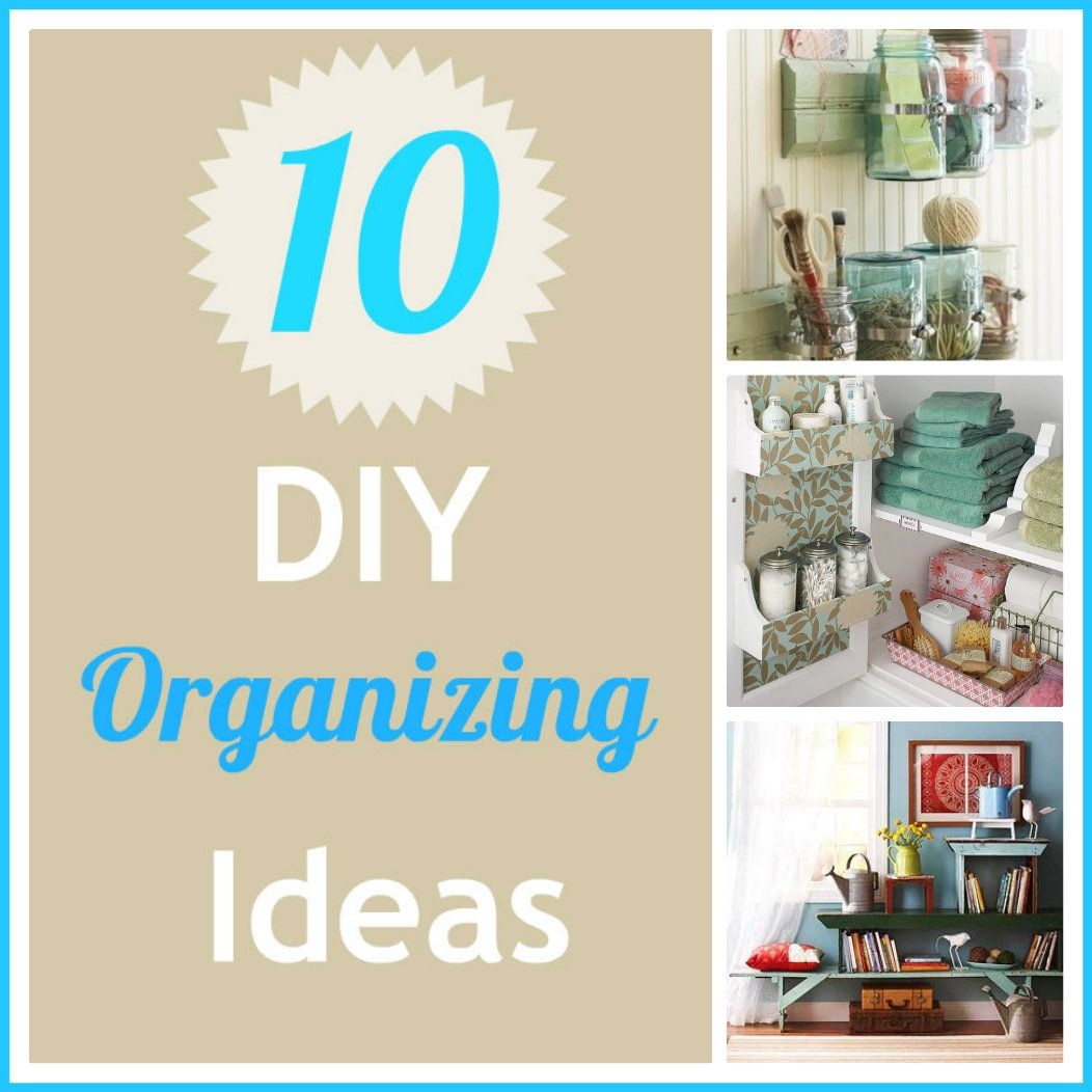 diy+organizing+ideas.jpg 1,052×1,052 pixels | Home - Organization ...