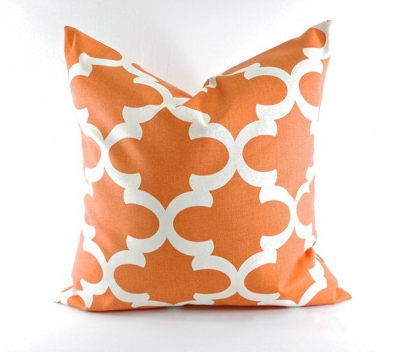 """4 Coral Pinks Greens /& Golden Orange Cushion Covers Scatter Pillows 16/"""""""