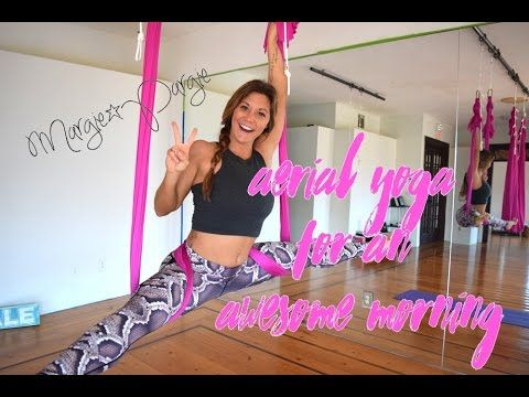 aerial yoga goddess good morning sequence episode 5