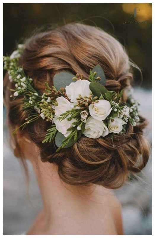 10 Beautiful Wedding Hairstyles For Long Hair l Pink Book Weddings