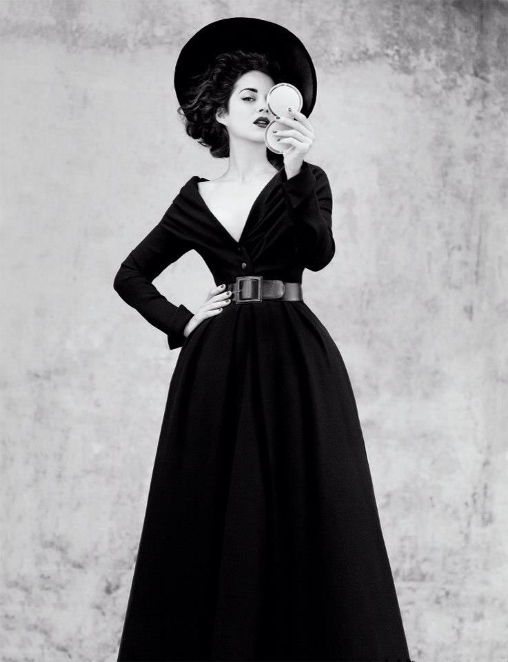 Beautiful Marion in Dior Couture dress