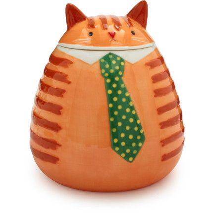 Fat Cat Cookie Jar