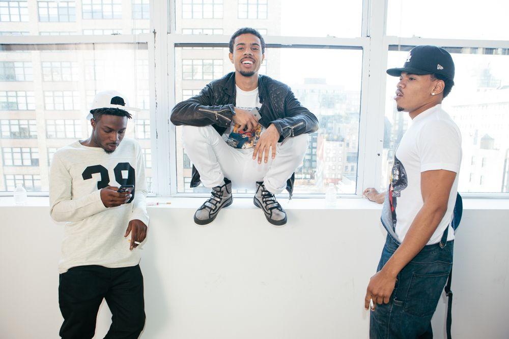 Isaiah Rashad Vic Mensa And Chance The Rapper Chance The