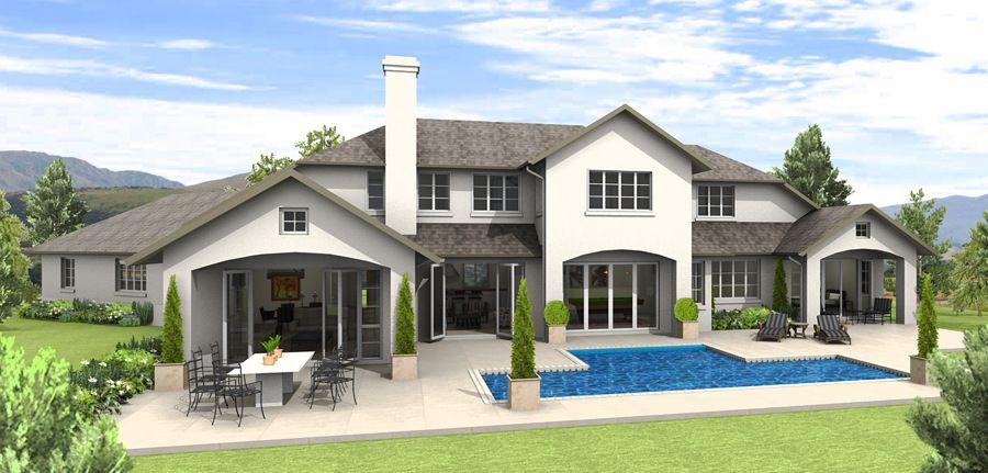 Casa americana 900 431 casa pinterest casas for Fachadas de casas estilo americano