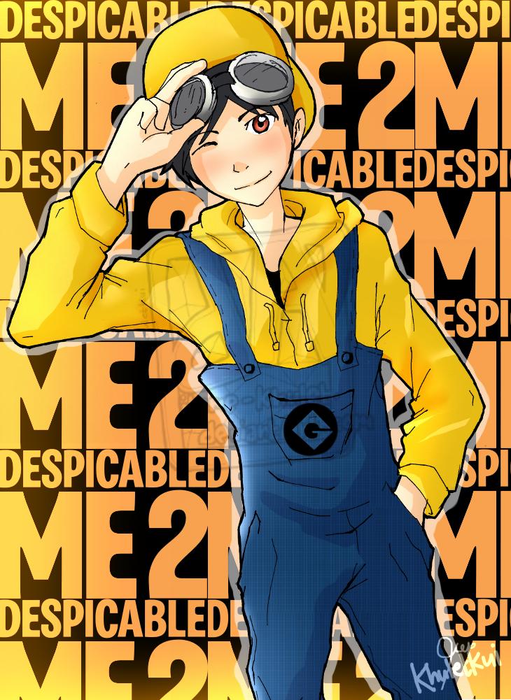 Anime version of a minion O.O