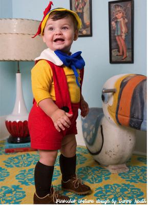 Pinocchio Disfraces Para Niñas Faciles Disfraces Pinocho Disfraces Sencillos Para Niños