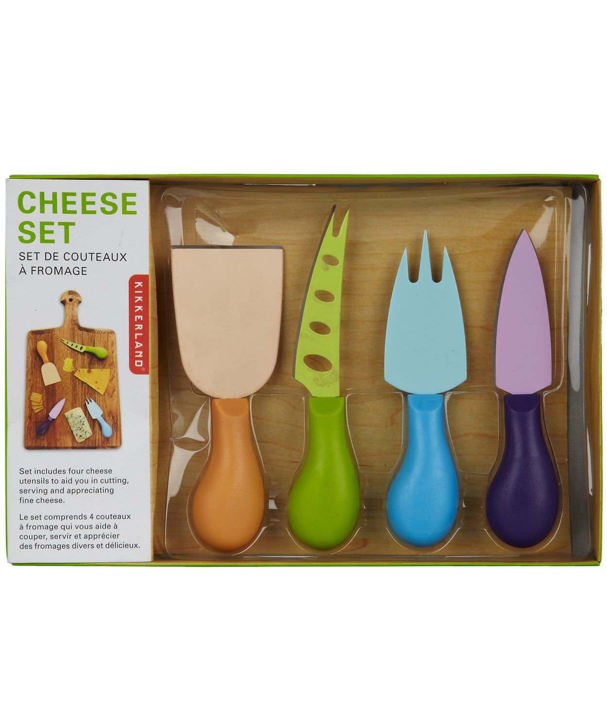 Cheese Knife Set, Kikkerland. Shop more from the Kikkerland collection at Liberty.co.uk