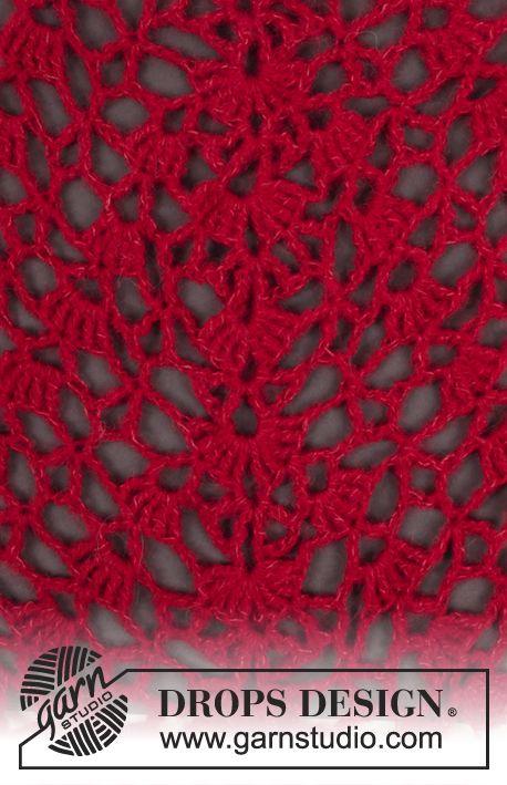 Free crochet pattern | Creativo | Pinterest | Ganchillo, Patrones y Chal