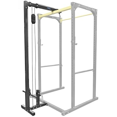 Northern Lights Lat Pulldown Attachment Power Rack Home Gym Design Home Made Gym