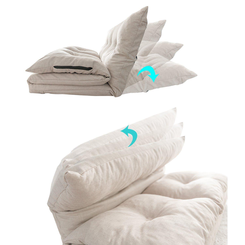 Amazing Merax Adjustable Fabric Folding Chaise Lounge Sofa Chair Cjindustries Chair Design For Home Cjindustriesco