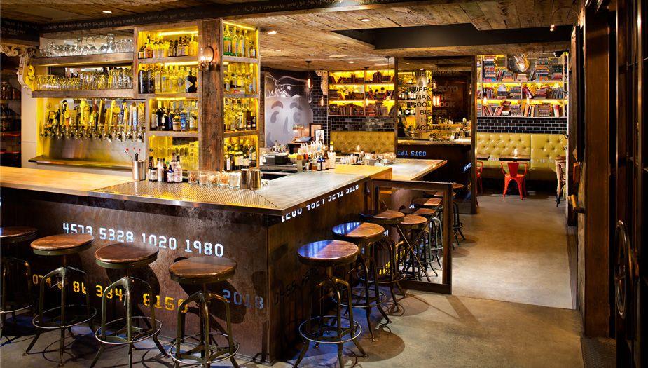 Craft Commerce Pin Bar Interior Little Italy Restaurant