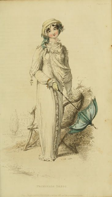 EKDuncan - My Fanciful Muse: Regency Era Fashions - Ackermann's Repository 1812
