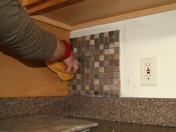 How To Install A Kitchen Tile Backsplash Kitchen Tiles