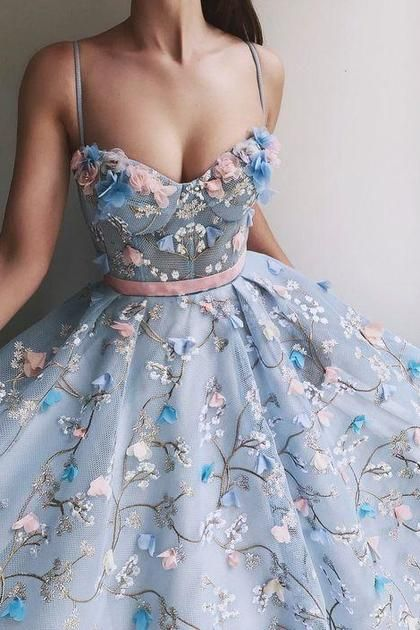 Vestidos de fiesta de princesa de correas espaguetis largas hermosas de moda Vestidos de noche US$ 499.00 VEPG146F41
