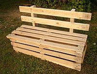 gartenbank selber bauen aus holz fences and gardens. Black Bedroom Furniture Sets. Home Design Ideas