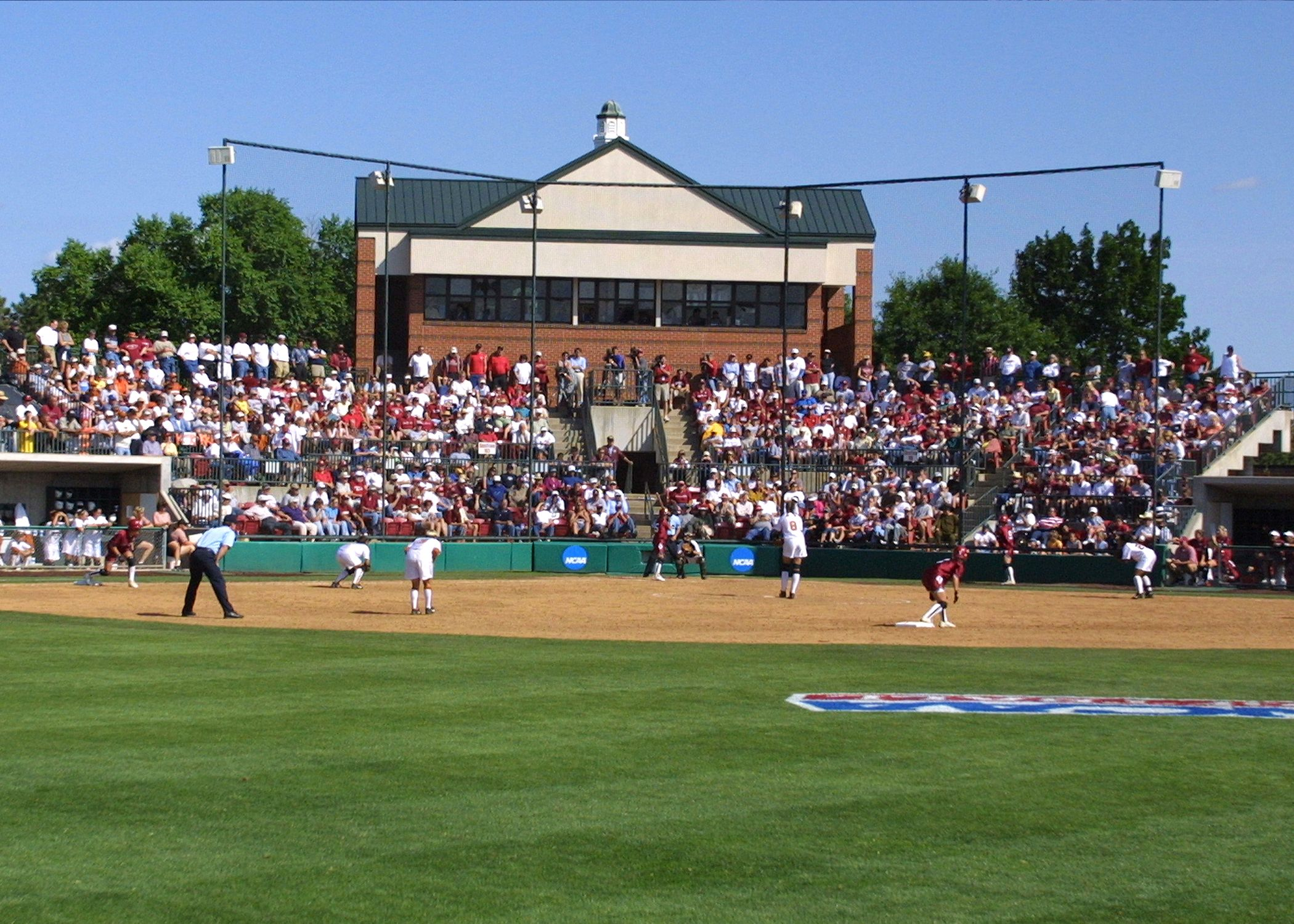 Home Of Ou Softball Ou Softball Baseball Field Softball