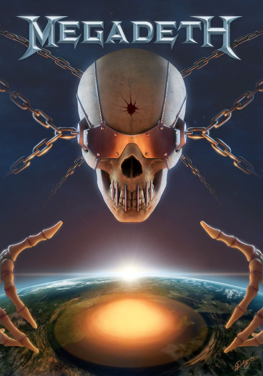 Vicrattlehead Megadeth Contest By Deligaris On Deviantart Heavy Metal Music Heavy Metal Bands Megadeth