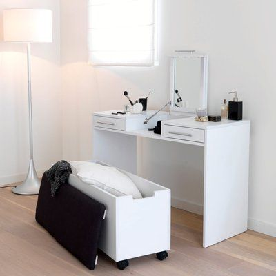 coiffeuse pin ireka coiffeuse pinterest coiffeur pin et chambres. Black Bedroom Furniture Sets. Home Design Ideas