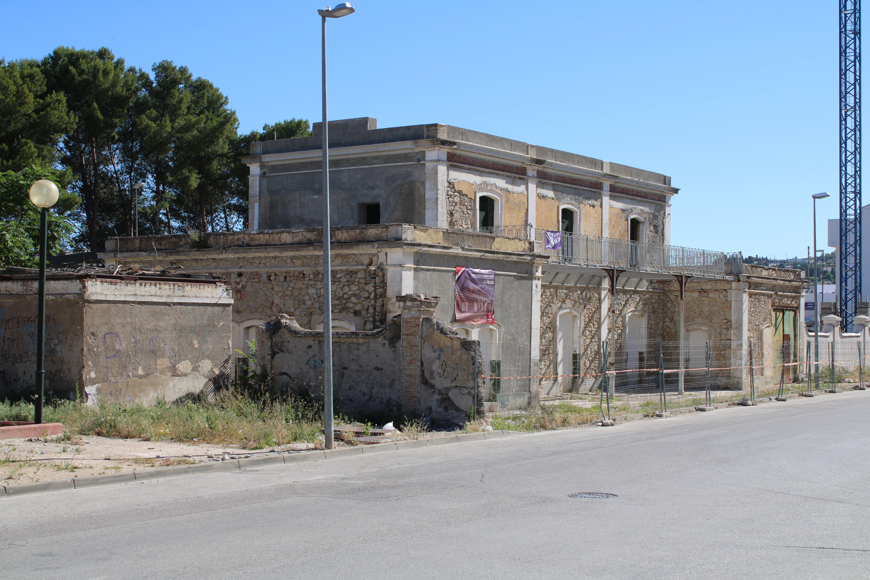 antigua estación de ferrocarril de Martos