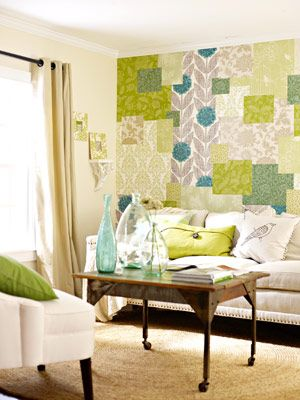 9 Ways to Decorate With Quilts | Color walls, Wallpaper samples and ...