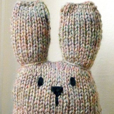 Bunny Mini Knitting Kit Stuff To Knitpatterns Pinterest Bunny