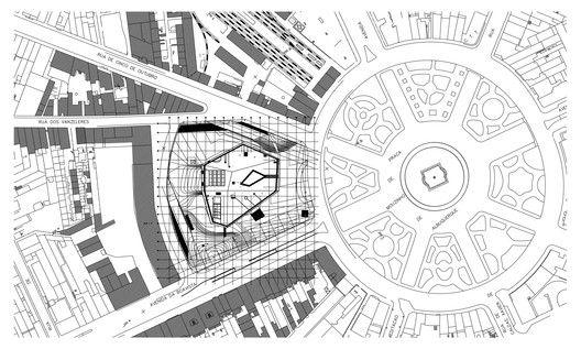 Casa da Musica,Site Plan © OMA