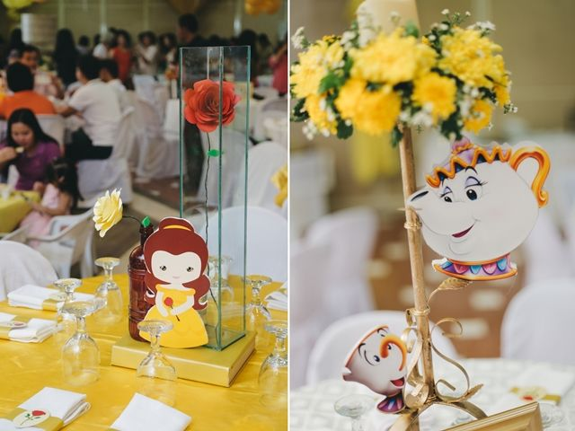 Princess Belle Party Decorations Bella's Princess Belle Themed Party  Table Centerpieces