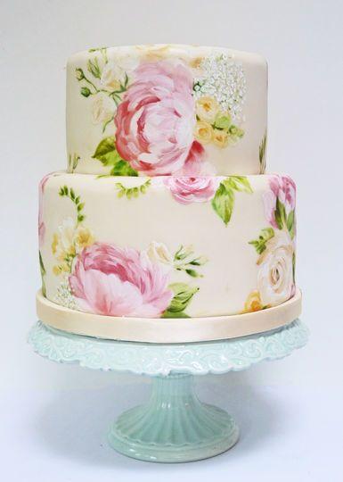 Natasha Collins wedding cake!