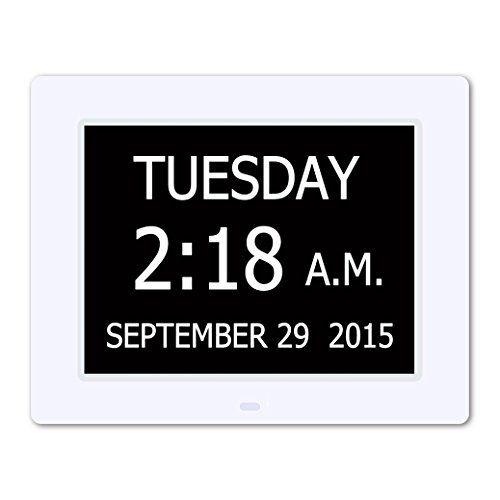 Upgraded Hurrah Extra Large Memory Loss Digital Calendar Day