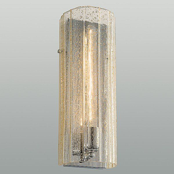 Ilex Nickel Libro Glass Wall Sconce By Laura Kirar At Lumens Com Glass Wall Sconce Vintage Wall Sconces Decorative Wall Sconces