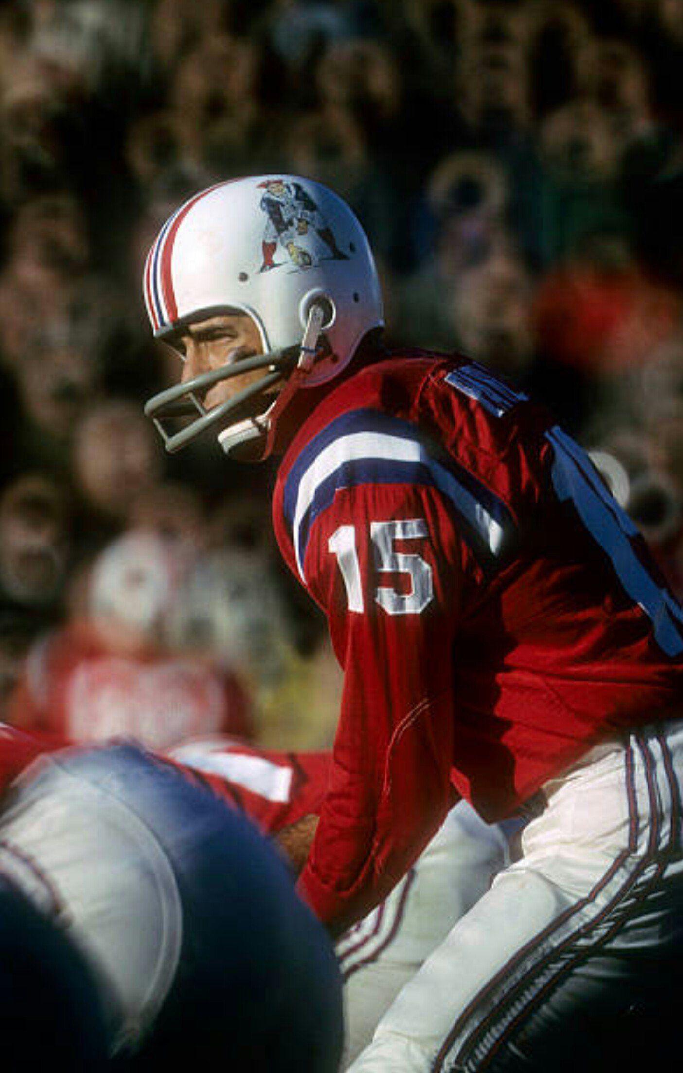 Boston Patriots Qb Babe Parilli American Football League Football Images Nfl Football Players