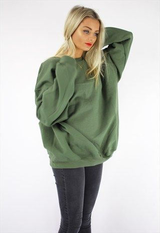 Ultimate boyfriend sweater khaki | Khakis, Boyfriends and Baggy ...